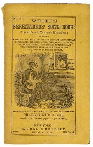 8C: White's Serenader's Songbook and Plantation Melodi