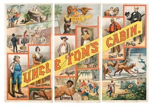 9C: Uncle Tom's Cabin 9-sheet poster