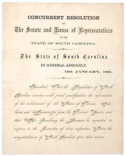 24C: Confederate secession circular