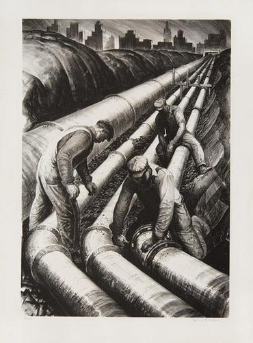 2A: James Allen four pipe line