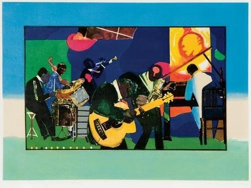 11A: Romare Bearden jamming at the savoy