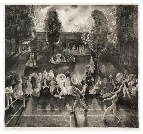 14A: George Bellows tennis
