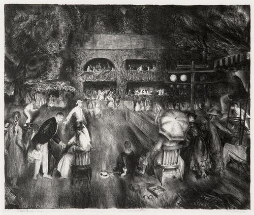 15A: George Bellows  the tournament