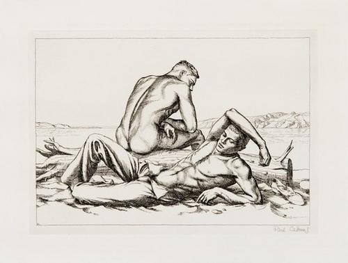 16A: Paul Cadmus two boys