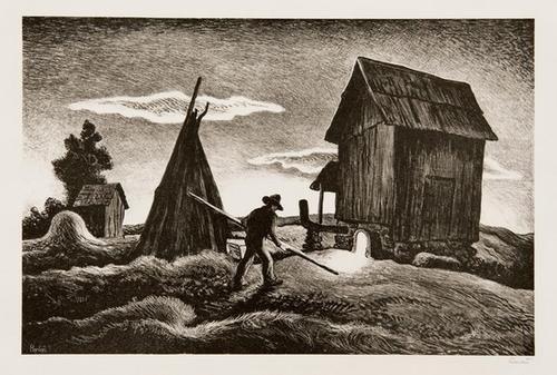 19A: Thomas Hart Benton night firing