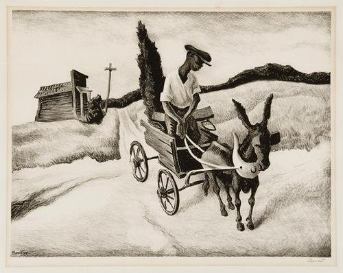 22A: Thomas Hart Benton lonesome road