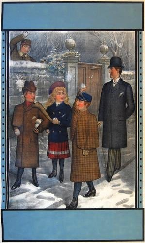 4A: Anon., Winter Clothes, poster