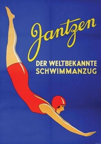 10A: Anon., Jantzen bathing costumes, poster