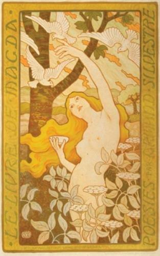 19A: Berthon, Paul (1872-1909) Le Livre de Magda