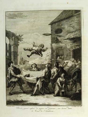 8B: Cervantes Don Quichotte, Walpole's Copy, 1746
