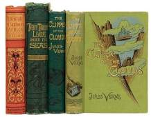 286A VERNE Jules 18281905 Group of four works