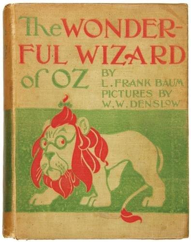 3B: BAUM Frank Wizard of Oz FIRST EDITION
