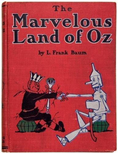 4B: BAUM Frank Marvelous Land of Oz FIRST EDITION