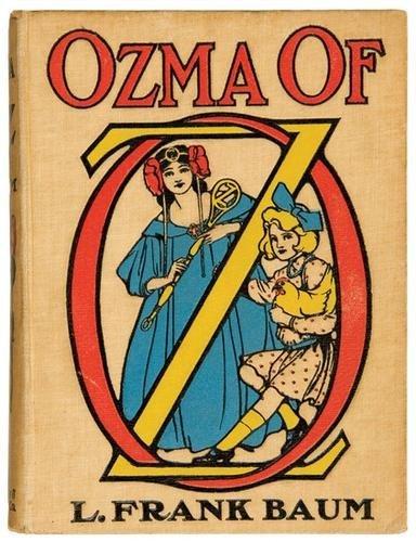 7B: BAUM Frank Ozma of Oz FIRST EDITION Neill