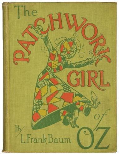 11B: BAUM Frank Patchwork Girl of Oz FIRST EDITION Neil