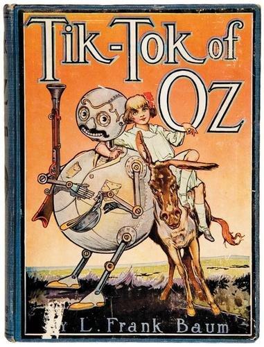 13B: BAUM Frank Tik Tok of Oz FIRST EDITION Neill