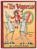 14B BAUM Frank Tin Woodman of Oz FIRST EDITION Neill
