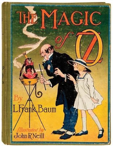 15B: BAUM Frank Magic of Oz FIRST EDITION Neill