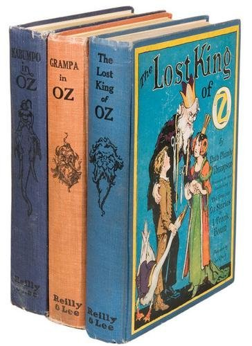 16B: THOMPSON Ruth Plumly Kabumpo in Oz FIRST EDITION