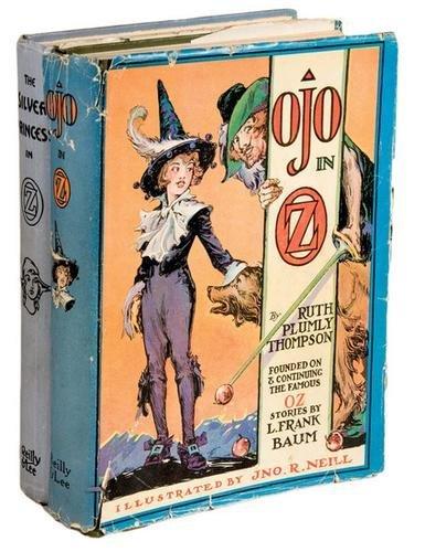 17B: THOMPSON Ruth Plumly Ojo in Oz FIRST EDITION DJ
