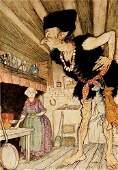 93B RACKHAM English Fairy Tales SIGNED LTD ED