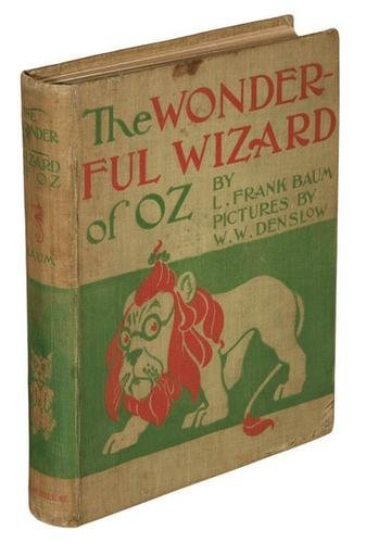 13A: Frank BAUM. The Wonderful Wizard of Oz. 1st ED.