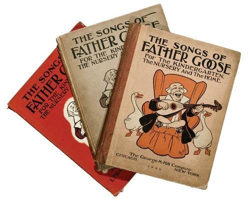 16A: Frank BAUM. Oz. The Songs of Father Goose 1st ED.