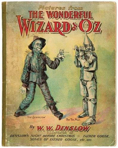 24A: DENSLOW. [...] Wonderful Wizard of Oz. BAUM