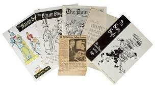 193A: THE BAUM BUGLE. Complete Run of OZ Journal.