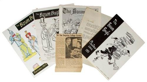 193A: THE BAUM BUGLE. Complete Run of OZ Journal.