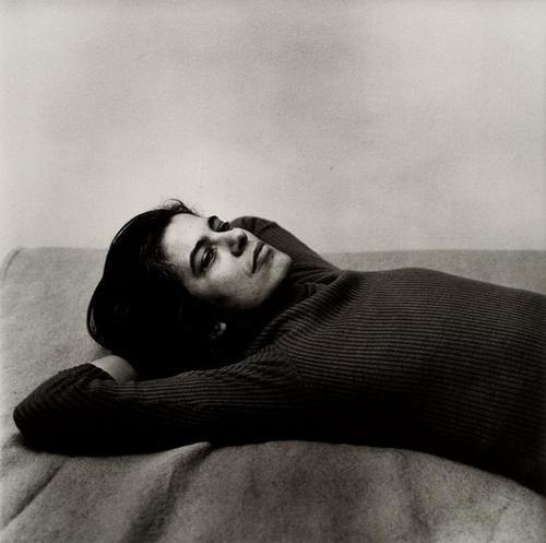 4B: PETER HUJAR (1934-1987); Susan Sontag, 1975