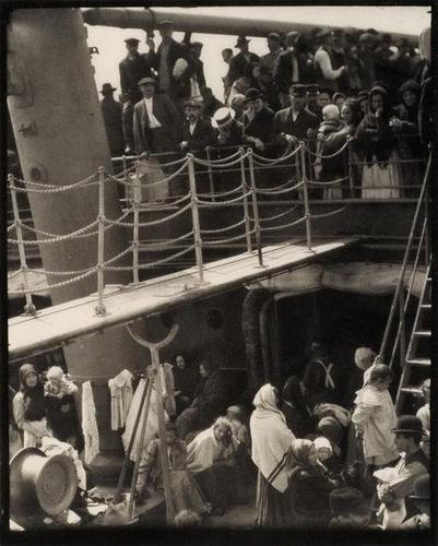 10B: Alfred Stieglitz (1864-1946); The Steerage, 1907