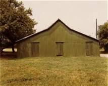 77B: William Christenberry (b. 1936); Green Shed, Newbu