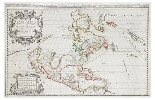 3D: BERRY, William. North America Divided into its Pri