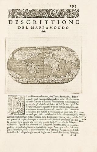 17E: PORCACCHI.  L'Isole piu Famose del Mondo. 1590.