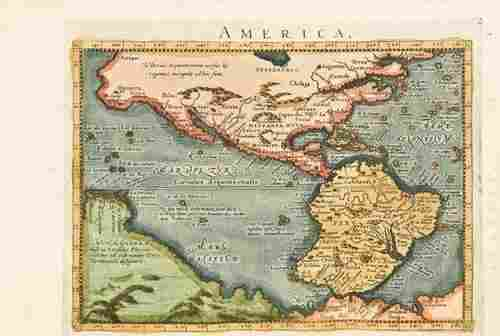 18E: PTOLEMY. Geographiae universae 1596 - 1594. first