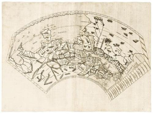 83e Ptolemaeus Ptolemy World Map 1478 Or 1490