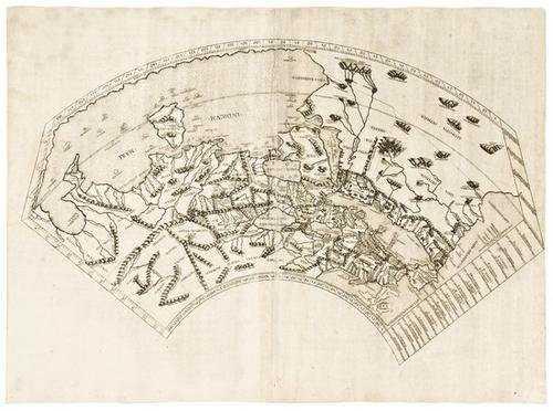83e Ptolemaeus Ptolemy World Map 1478 Or 1490