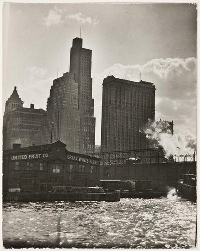 3F: Bernice Abbott- (United Fruit Co.), c. 1930's