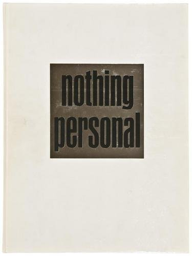 7F: Richard Avedon- Nothing Personal, photobook