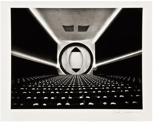 10F: Ruth Bernhard- Eighth Street Movie Theater, 1946