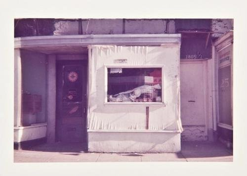 16F: William Christenberry-18th & S Street, 1973