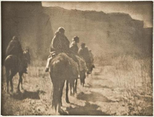 22F: Edward S. Curtis- The Vanishing Race- Navajo, 1904