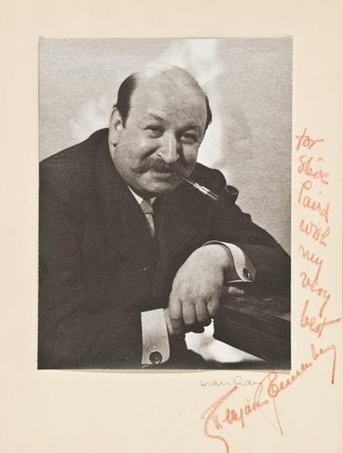 83F: Man Ray- Benjamin Sonnenberg, c. 1930