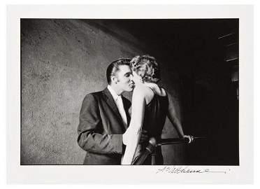 111F: Alfred Wertheimer- The Kiss, 1956