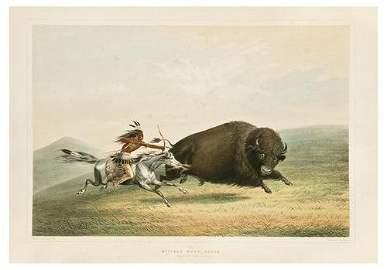 34: Catlin's North American Indian Portfolio. Hunting