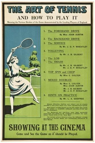 3: ANONYMOUS THE ART OF TENNIS