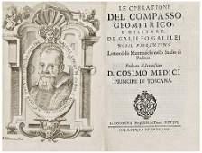 GALILEI, Galileo.  Opere.