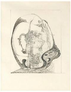 8: Salvador Dali Surralist Landscape drawing