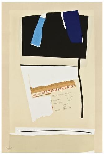 14: Robert Motherwell America-La France